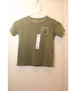 BOYS 4 or 6 Tee t-shirt top Alaska Expedition Trek Olive GREEN SONOMA NWT - $9.95