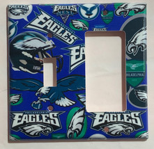 Philadelphia Eagles Light Switch Power Outlet Duplex Wall Cover Plate Home Decor image 5