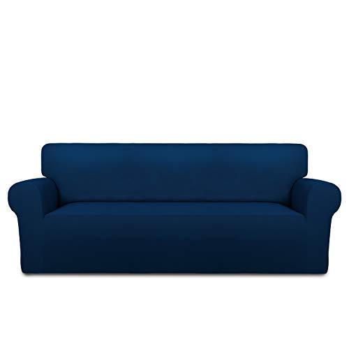 Easy Going Fleece Stretch Sofa Slipcover Soft Couch Sofa