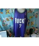 Vintage 90's NBA Milwaukee Bucks Terrell Brandon Champion Jersey 52  - $74.25
