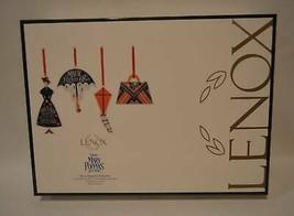 Lenox Disney Mary Poppins Returns 4 Pc Porcelain Christmas Ornament Set NEW - $44.55
