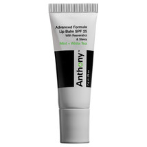 Anthony Mint And White Tea Lip Balm SPF 25 0.25 oz / 7 g  - $10.66