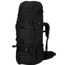 65 Liter Backpack Internal Frame Tactical Military Molle Rucksack  Rain ... - $102.14