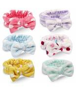 Jaciya 6 Pack Women Spa Headbands Elastic Headband Hair Band For Women - $10.15