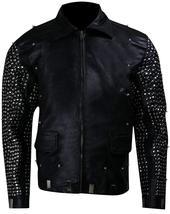 WWE Chris Jericho (Y2J) Light Up Black Studded Leather Jacket image 4