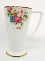 Mikasa Bone China Tall Elegant Coffee Cup Mug ROSEMEAD Beautiful! - $14.95