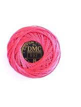 DMC Pearl Cotton #8 Pink #893 87 M 10 Grams Coton Perle - $2.30