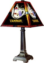 Table Lamp DALE TIFFANY CAMPARI 1-Light Antique Brass Metal - $390.00