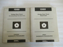 1999 Chrysler Chassis/Body Diagnostic Procedures Manuals Set of 2 - $37.15