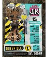 LOL Surprise JK QUEEN BEE Mini Fashion Doll 15 Surprises Series 1 Real H... - $24.74