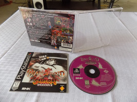 Samurai Shodown III: Blades of Blood CIB great shape tested PS1 Playstation - $29.93