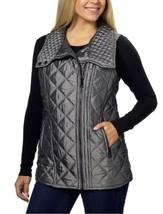 Marc New York, Andrew Marc Women's Quilted Assymmetrical Vest, Fuschia, ... - $25.49
