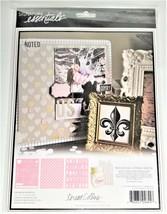 """Teresa Collins Signature Essentials 3 Pk Stencil Sheets 8x10"""" - Love You image 2"""