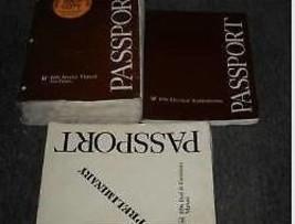 1996 Honda Passport Servizio Negozio Riparazione Manuale Set con Fuel Emissioni - $35.81