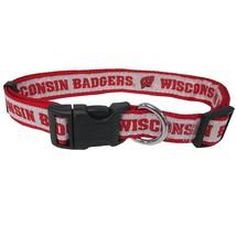 Wisconsin Badgers Dog Collar NCAA Pet Gear - $14.75