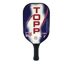 Topp Pickleball Paddle Reacher Composite Blade (Blue/Red) - $85.00