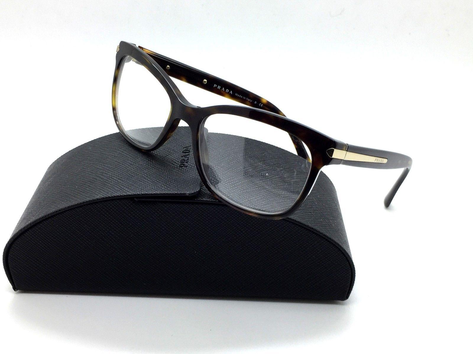 df2c42a79527 Prada Tortoise Eyeglasses VPR 10R 2AU 1O1 53 and 31 similar items. S l1600