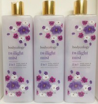 (3) Twilight Mist 2 In 1 Body Wash & Bubble Bath with Moisturizing Shea ... - $29.69