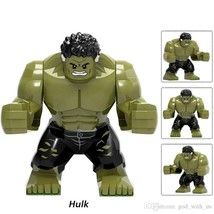 1pcs Large Hulk Marvel in Avengers infinity war Mini figure Building Leg... - $4.99
