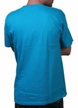 Neff Uomo Blu Turchese Love Statua Ciuccio Viso T-Shirt W11316 Nwt image 2