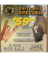 Countrymen Innovations Early Bird Special  Decoy & Box Call - $49.95