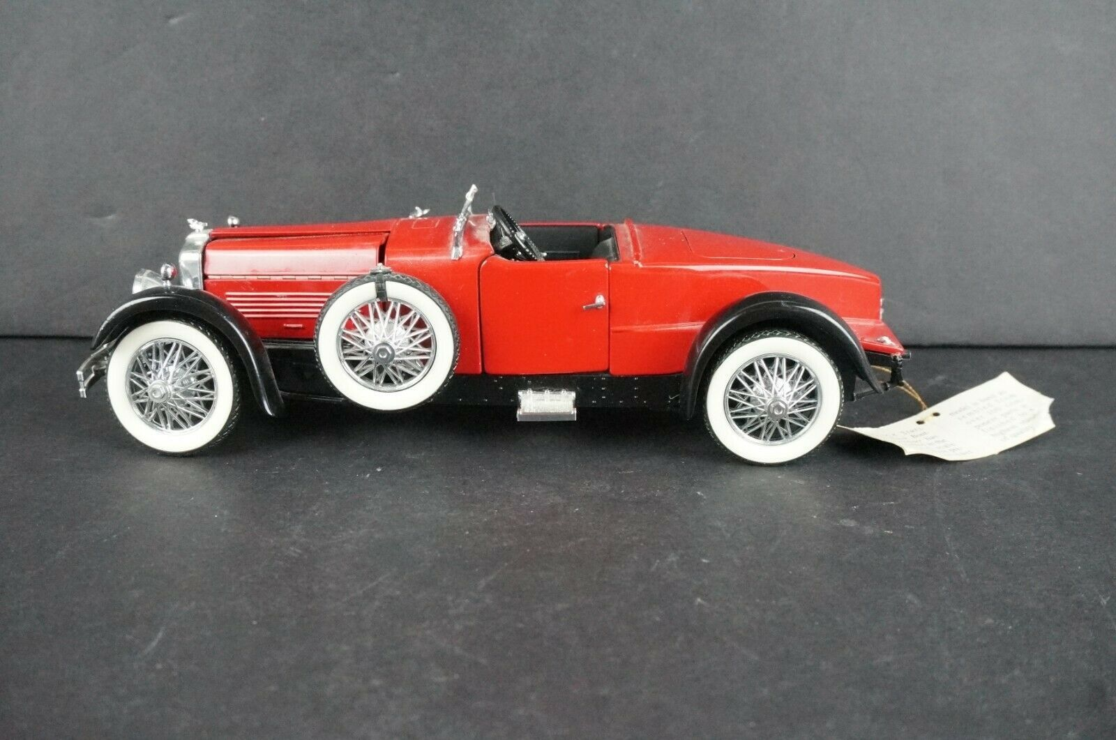Primary image for Franklin Mint 1928 Stutz Black Hawk Boat-tail Speedster 1/24 Scale Broken