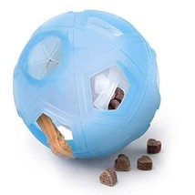 "LumoLeaf Dog Treat Ball, 5"" Interactive IQ Treat Dispensing Ball Toy wit... - $19.13"