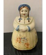Shawnee Pottery Company Cooky Dutch Girl Cookie Jar Vintage Rare Kitchen... - $69.78
