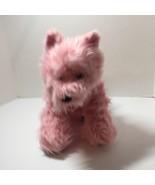 "Pink Yorkie Dog with Collar Plush Stuffed Animal Build a Bear 10"" - $12.59"
