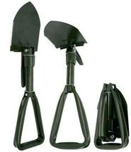 Tri-Fold Folding Shovel Pick- Garden/Camping/Survival shovel Multi Use W... - $21.52 CAD