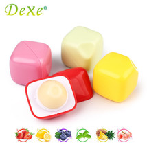 6pcs/lot Dexe 7g Lip Balm Fruit Flavor Fit Lips Balls Smooth Touch Soft & - $23.99