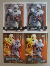 Jamaal Charles Four Rookie Card Lot 2008 Press Pass Se #11-8/2008 Hit #25 - $4.46