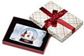 Amazon.com plaid gift card box    50  holiday globe card thumb200