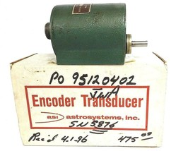 ASI ASTROSYSTEMS HMT34-1/100UK ENCODER TRANSDUCER HMT34-100UK - REPAIRED