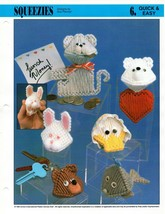 Plastic Canvas Pattern - Squeezies - Quick & Easy - $2.47
