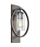 Feiss WB1846ANBZ Marlena 1 Light 11 inch Antique Bronze Vanity Light Wal... - $204.20