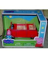Peppa Pig PEPPA PIG'S LITTLE RED CAR New - $12.88