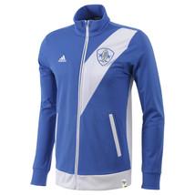 ADIDAS BRAZIL PRAIA DOS SAMBA F.C. FULL ZIP JACKET TRACK TOP XL BLUE SOC... - $46.74
