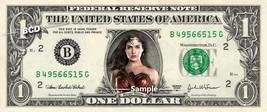 WONDER WOMAN on a REAL Dollar Bill Gal Gadot Cash Money Collectible Memorabilia  - $8.88