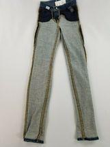 Neuf J Brand Femme Jeans Skinny Maria 23110O212 Divulgation Bleu Sz 22 Pdsf image 12