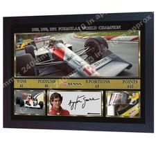 *** F1 Champion Ayrton Senna signed autographed Formula 1 McLaren Honda ... - $21.76