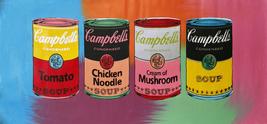 """Steve Kaufman """"Campbell's Soup Quad"""" - Signed H... - $1,800.00"""