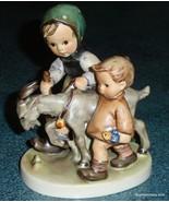 """Homeward Bound"" Goebel Hummel Figurine #334 TMK5 Brother And Sister Goi... - $81.96"