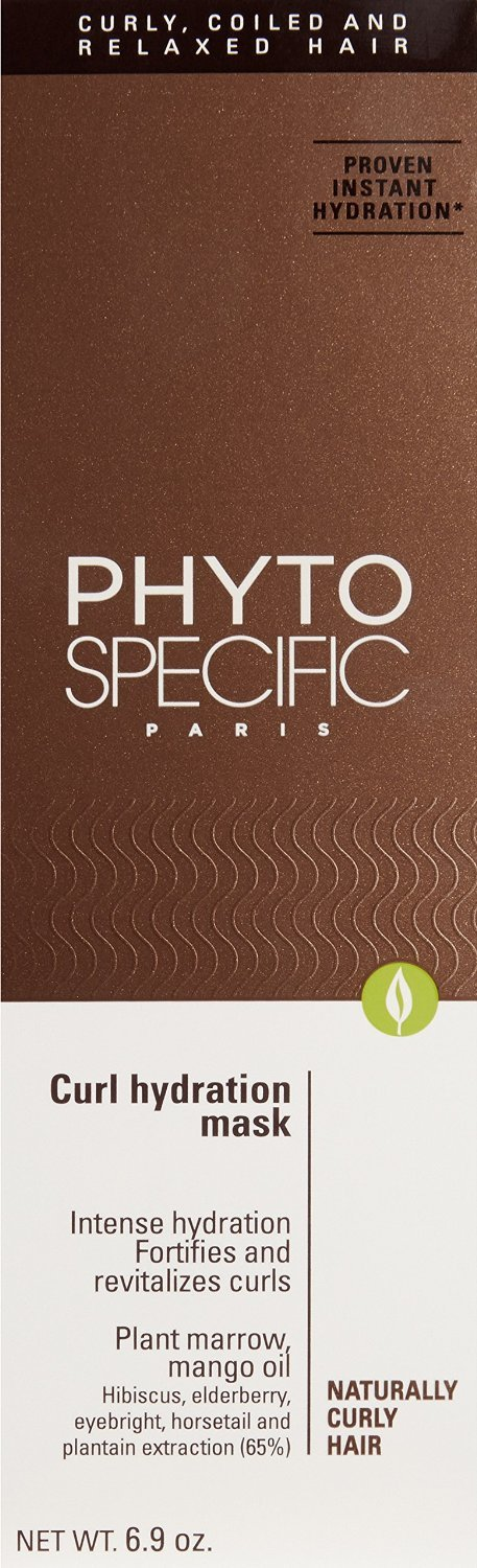 Phyto Specific CURL HYDRATION MASK Intense Hydration Naturally Curly Hair 6.9oz