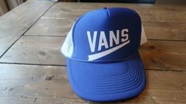 Blue VANS Trucker Hat White - $15.83