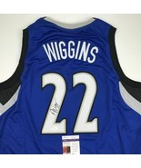 Autographed/Signed ANDREW WIGGINS Minnesota Blue Basketball Jersey JSA C... - $3.832,67 MXN