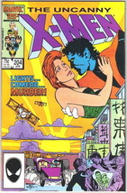 The Uncanny X-Men Comic Book #204 Marvel Comics 1986 VERY FINE+ NEW UNREAD - $5.94