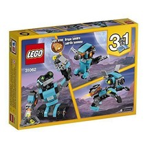 New 3-in-1 LEGO Creator Rebuilt Model Robot Explorer Robot Dog Robot Bird - $20.63