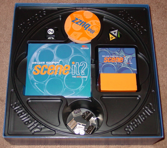 SCENE IT DVD GAME DELUXE EDITION 2004 MATTEL SCREENLIFE LIGHTLY PLAYED CONDITI image 6