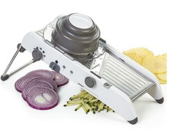 Manual Adjustable Stainless Steel Vegetable Cutter Mandoline Slicer Grater - €43,95 EUR